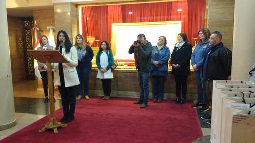 Alumnos de Córdoba y Buenos Aires se preparan para prometer fidelidad a la Bandera.